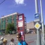 Zastávku busu na Dejvické