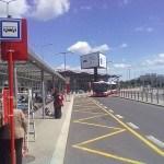 Zastávka busu - Terminál 1