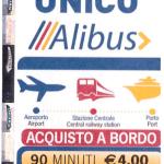 Lístek na Alibus u řidiče