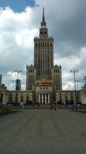 Palác kultury Varšava