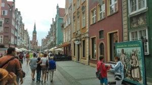 Gdaňsk centrum