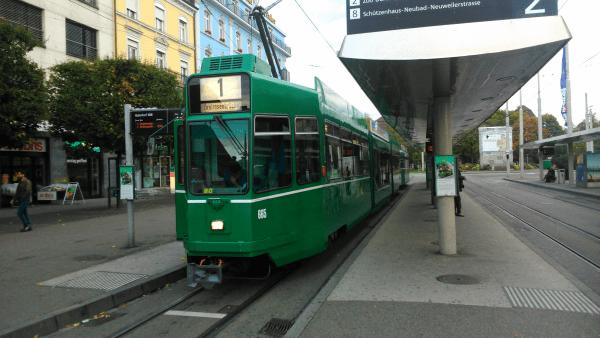 Tramvaj v Basileji