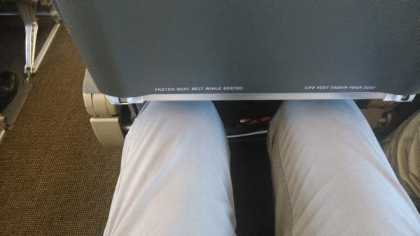 Místo v letadle