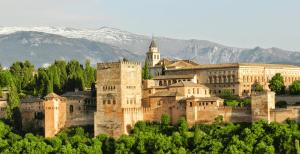 Malaga + Granada + Sevilla + Faro + Porto
