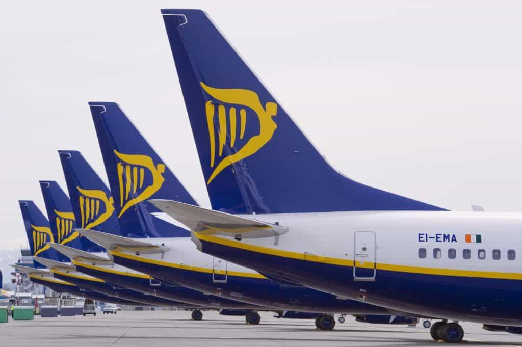 Ryanair – rušení letů