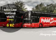 Polskibus – jízdenky za 6 Kč