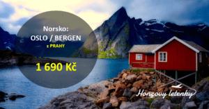 Norsko: OSLO nebo BERGEN