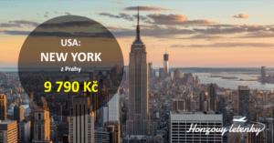 NEW YORK z Prahy