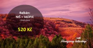 Srbsko + Makedonie