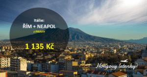 Itálie: ŘÍM + NEAPOL
