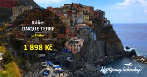 Itálie: CINQUE TERRE