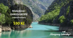 Makedonie: OHRID+SKOPJE