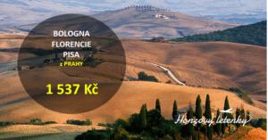 BOLOGNA + FLORENCIE + PISA