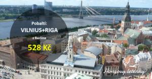 Pobaltí: VILNIUS+RIGA