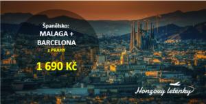 Španělsko: MALAGA + BARCELONA