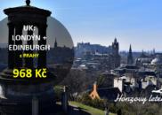 UK: Londýn + Edinburgh