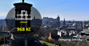 UK: Londýn + Edinburgh