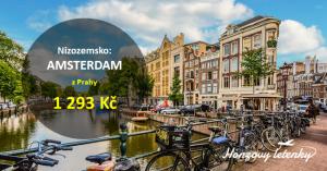 Levné letenky do AMSTERDAMU přes léto