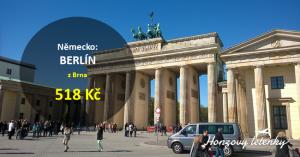 Levné letenky na nové lince do BERLÍNA