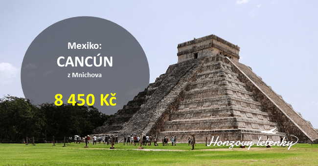 Akční letenky do Mexika – CANCÚN