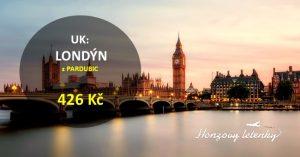 Nejlevnější letenky do LONDÝNA