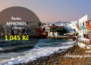 Jarní levné letenky na řecký MYKONOS