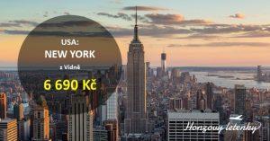 Levné letenky z Vídně do NEW YORKU