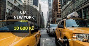 Letenky do NEW YORKU přímo z Prahy