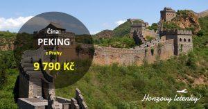 Akční letenky do PEKINGU