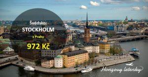 Akční letenky z Prahy do STOCKHOLMU