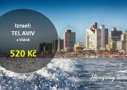 Nejlevnější letenky do TEL AVIVU z Vídně