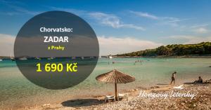 Nejlevnější letenky do Chorvatska – ZADAR