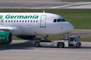 Aerolinka GERMANIA krachuje