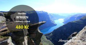 Nejlevnější jarní letenky do norského BERGENU