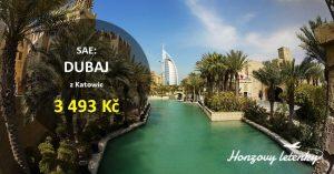 Nejlevnější letenky do DUBAJE