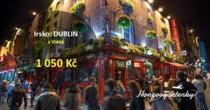Levné letenky do DUBLINU