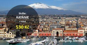 Poslední akční letenky do sicilské KATÁNIE