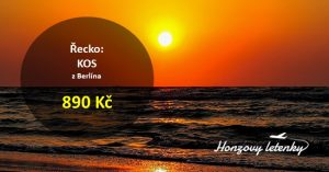 Jarní letenky na řecký KOS