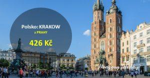 Akční letenky do polského KRAKOWA