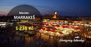 Levné letenky z Prahy do Maroka