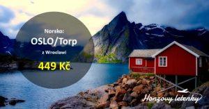 Nejlevnější letenky na jih NORSKA