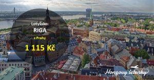 Levné letenky z Prahy do RIGY