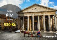 Levné letenky do červnového Říma