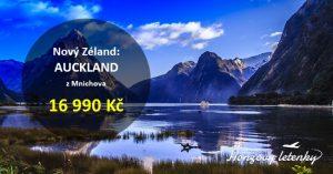 Nejlevnější letenky na NOVÝ ZÉLAND