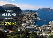 Výhodné letenky do norského ALESUNDU