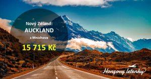 Letenky na NOVÝ ZÉLAND za super cenu
