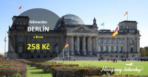 Nejlevnější letenky do BERLÍNA