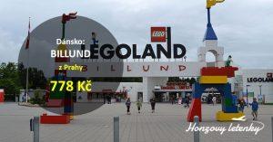 Letenky z Prahy do dánského LEGOLANDU