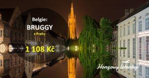 Levné letenky do belgických BRUGG