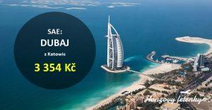 Akční letenky do DUBAJE